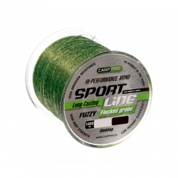 Влакно за риболов - CARP PRO SPORT CAST FLECKED GREEN 1000 - 0.310 мм.
