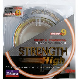 Плетено влакно за риболов Daiwa STRENGTH 0,18mm