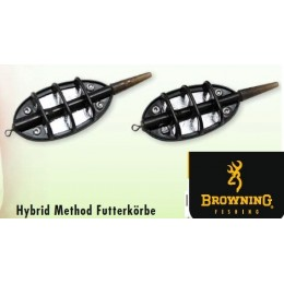 BROWNING HYBRID Inline Safe Method Feeder 20 g. (метод фидер хранилки) 2 pcs